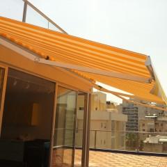 סוככים למרפסת גג